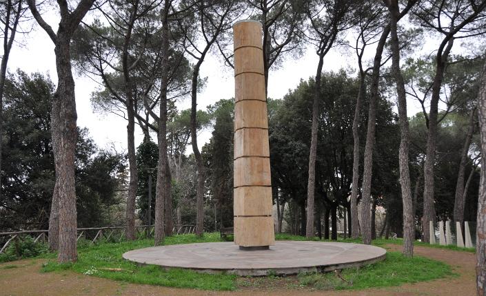 L'omaggio a Simon Bolivar nel Parco di Montesacro
