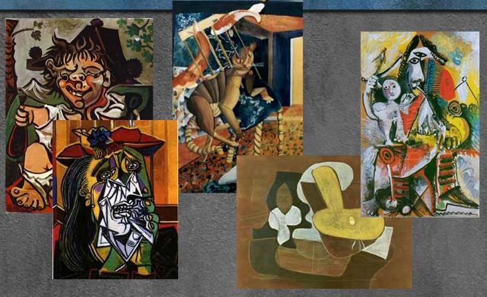Opere cubiste di Pablo Picasso