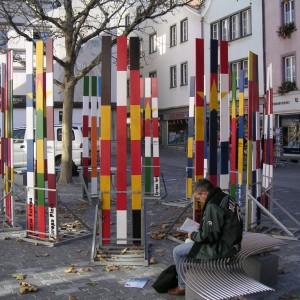 Yves Mettler, Europaplatz, 2003