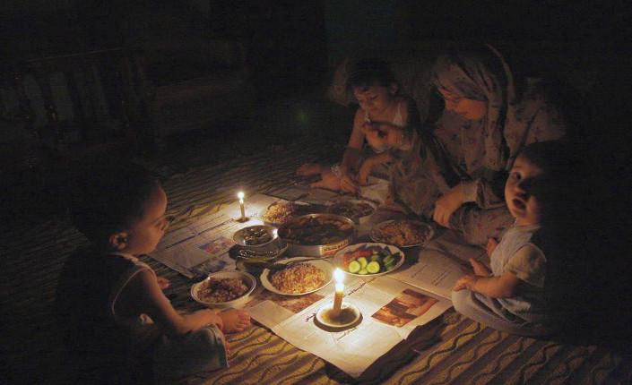 gaza: cena al buio