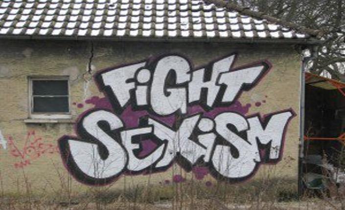 lotta contro il sessismo murales