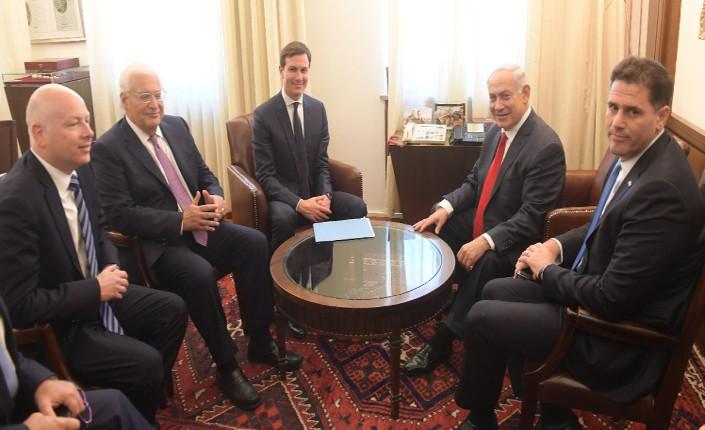 """Il """"team"""" di Trump per la pace israelo-palestinese"""