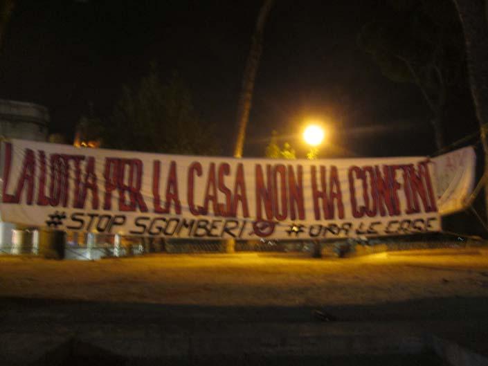 #piazzaindipendenza, ancora nessuna soluzione per gli sgomberati