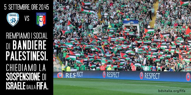 Mondiali, Italia-Israele. Meglio un calcio all'apartheid