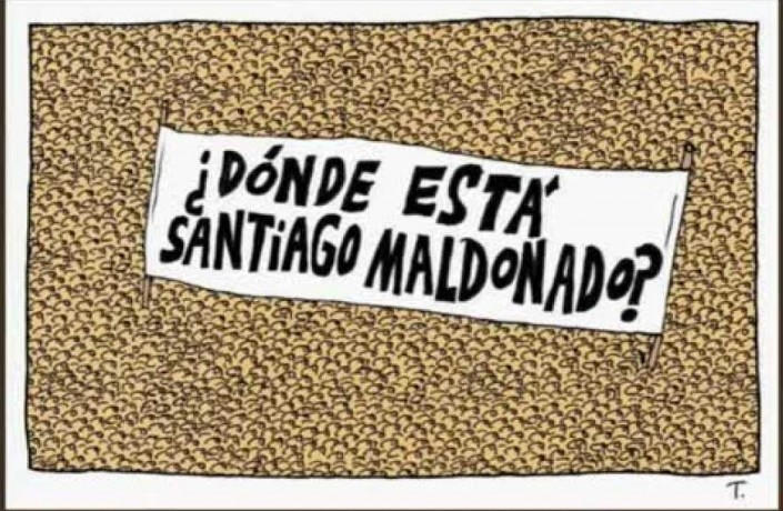 Donde està Santiago Maldonado? Macrì risponde come Videla