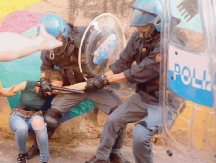 Repressione, Bologna come la Val Susa