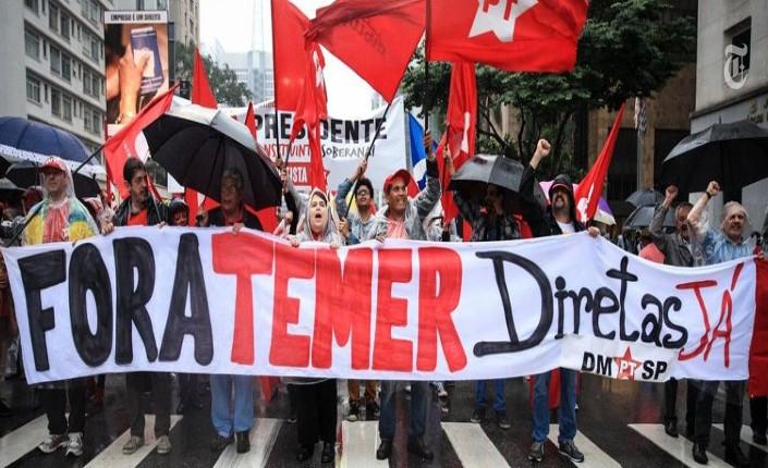 manifestazione contro Temer Brasile 705