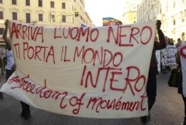Antirazzisti a Roma, ventimila in piazza