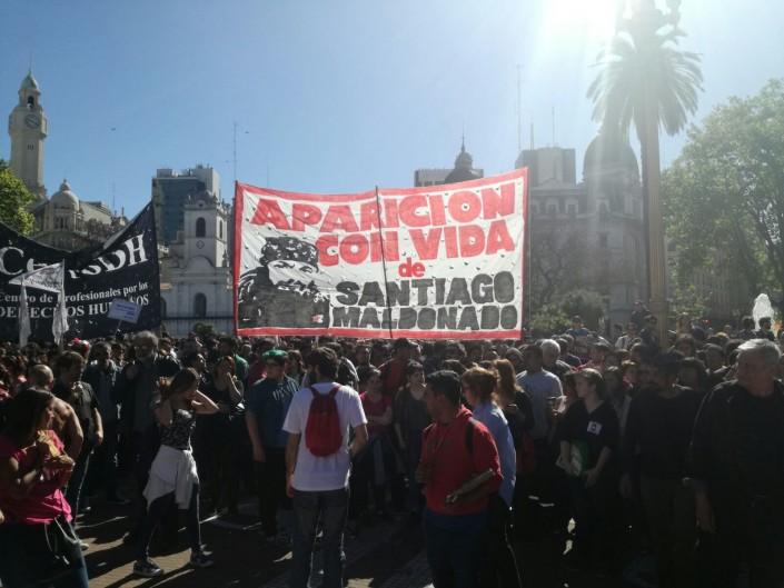 Santiago Maldonado, forse ritrovato il corpo