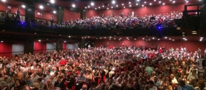 L'assemblea del Brancaccio dello scorso giugno
