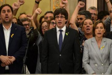"""Istituzioni catalane. I primi """"effetti"""" dell'indipendenza"""