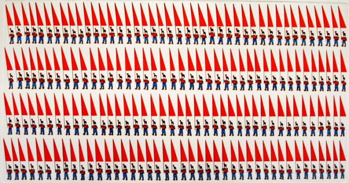 09-50x34-2005-Grafica-Parata-di-bandiere-rosse