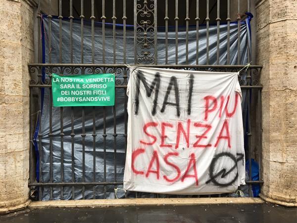 Roma, fine anno senza casa per 60 famiglie accampate in basilica