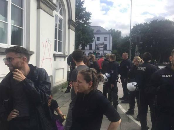 G20 Amburgo, la polizia tedesca agì fuori dallo stato di diritto