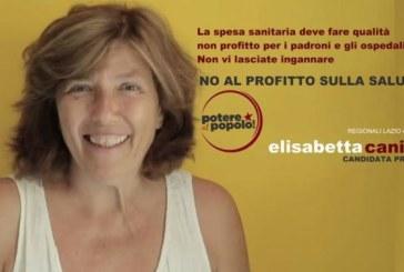 Potere al popolo anche alle Regionali del Lazio