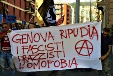 Non è una città per fascisti. Genova scende in piazza