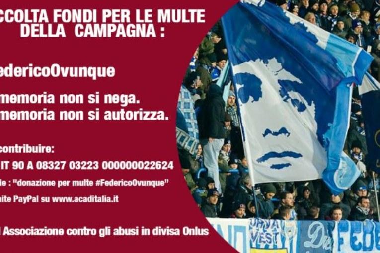 Solidarietà ai tifosi. Federico Ovunque (anche in Parlamento)