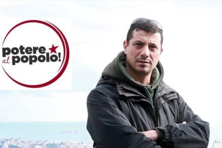 Il primo eletto di Potere al Popolo, Sergio Triglia