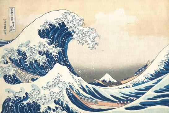 Hokusai, La grande onda di Kanagawa, 1830