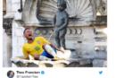 #BrasileBelgio. Polemiche per il fotomontaggio del Salvini belga