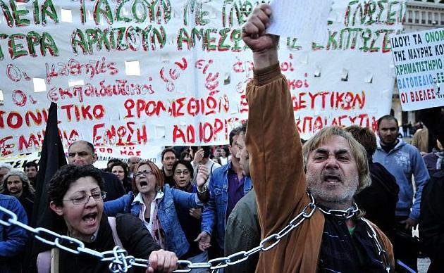 Il saccheggio della Grecia non è finito