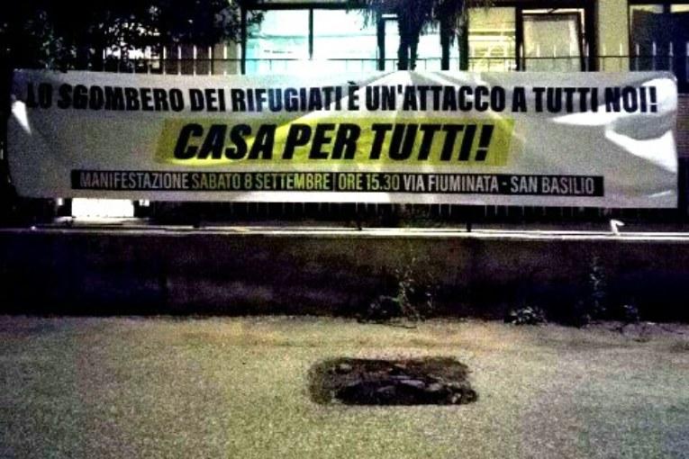 Roma, allo stremo i rifugiati di Scorticabove