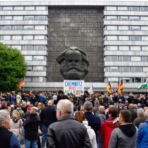 Chemnitz blindata, nazi ancora in piazza