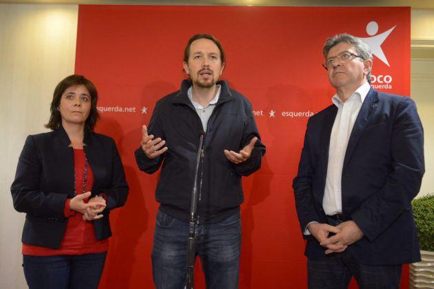 Iglesias, Mélenchon e Martins: «Europa mai così disuguale»