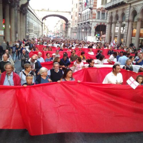 Genova, un ponte per non fuggire