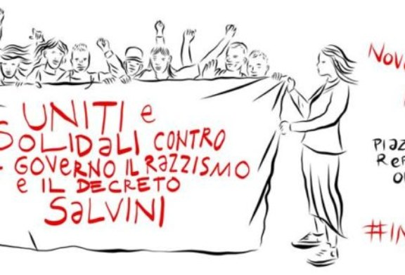 #10Novembre: contro il governo razzista e patriarcale