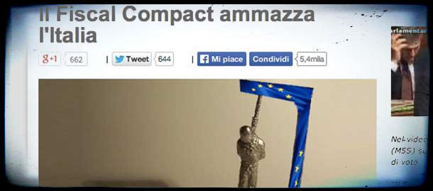 Fiscal compact, battuta d'arresto a Bruxelles
