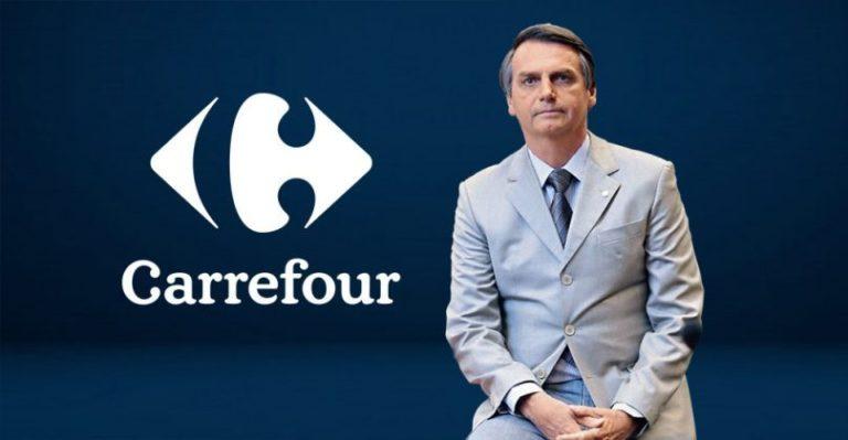 Anche Carrefour tra i finanziatori di Bolsonaro