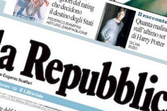 Repubblica, licenziato Calabresi: troppo schierato