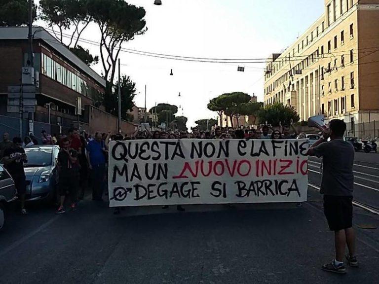 Roma, repressione a misura di Parnasi e Bnp Paribas