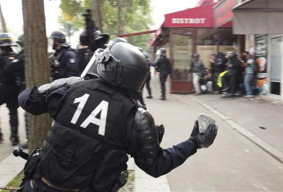 Ecco come la polizia francese intrappola i cortei