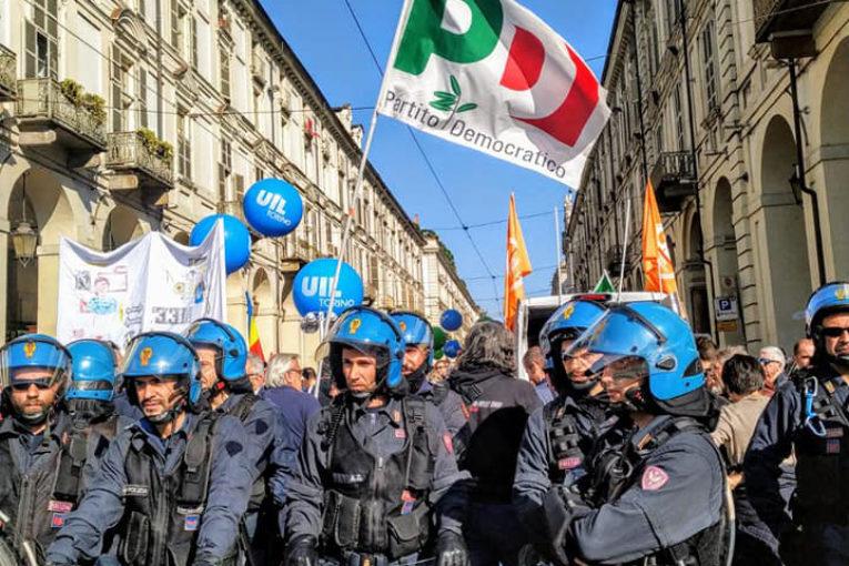 Primo maggio a Torino: vietato disturbare madamine, burocrati e Pd