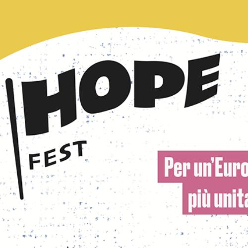 Hope Fest, un concerto per l'Europa
