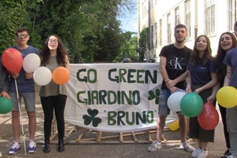 Giardino Bruno, l'eresia è un orto a scuola