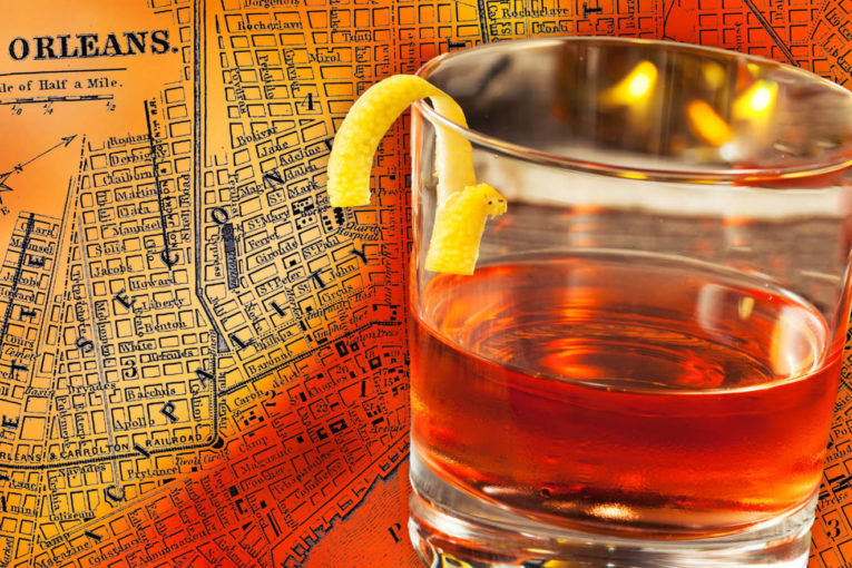 Parole in fondo al bicchiere: drinkin' Sazerac in the rain