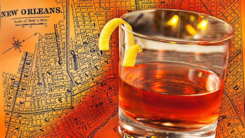 Parole in fondo al bicchiere: drinkin' Sazerac in the rain