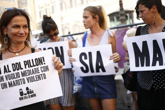 Ddl Pillon rimandato a settembre, ma la piazza delle donne sarà ancora lì
