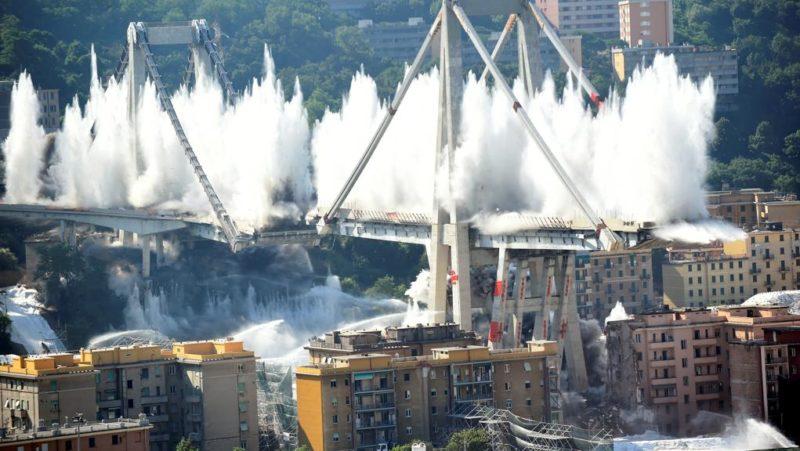 Genova, le macerie del Ponte Morandi, una storia di rimozioni