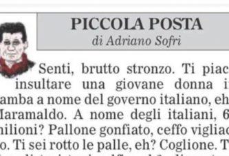 Mai un ministro come Salvini, gli servirebbe un po' di educazione civica