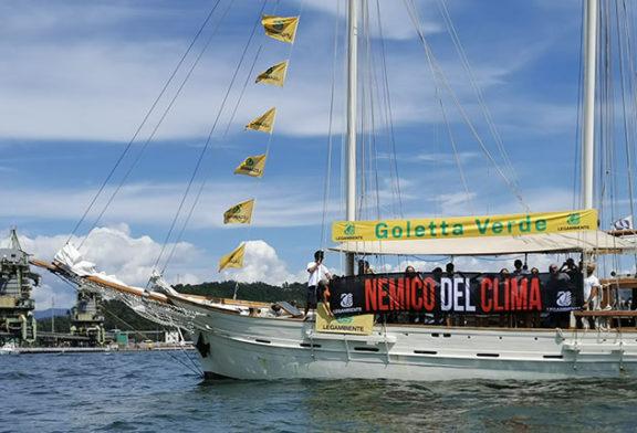 Blitz di Goletta Verde per difendere ambiente e clima