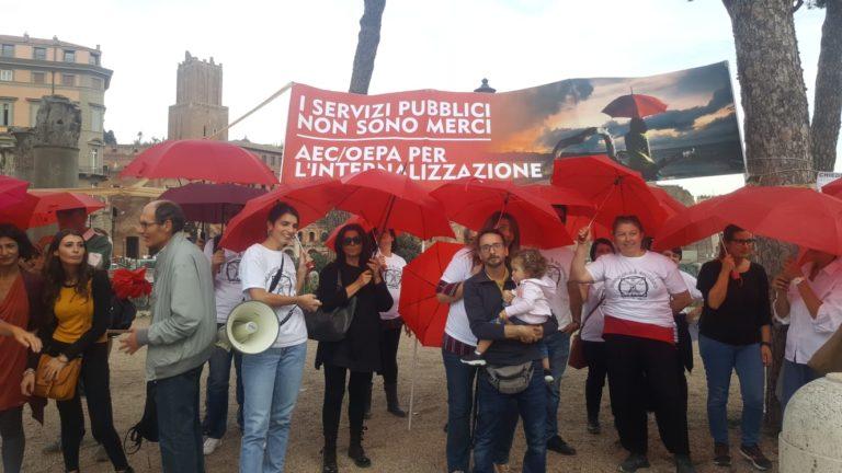 Roma, 12mila firme per internalizzare gli operatori Oepa
