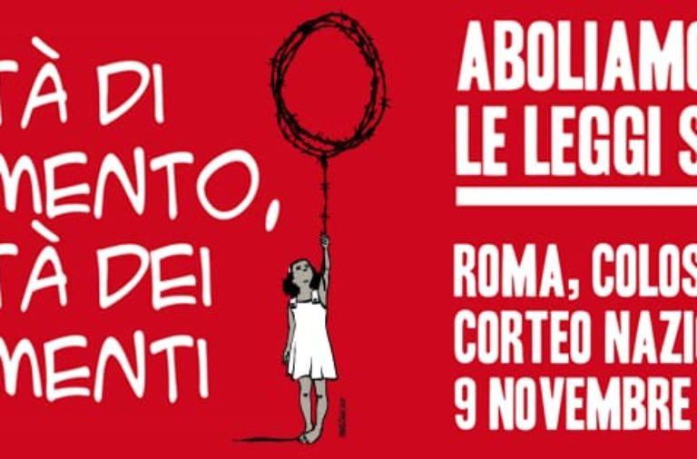 La solidarietà e le lotte sono indivisibili. Tutti in piazza il 9 novembre