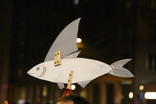 Il bivio delle sardine: diventare salmoni o finire in scatola