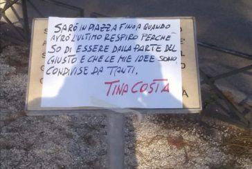 Roma, vandali sulla targa per Tina Costa