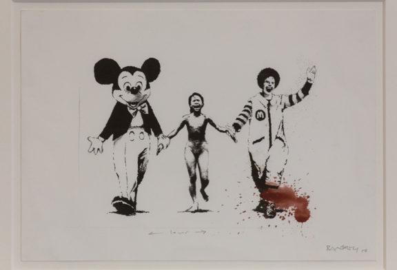 Mettere al muro la pop art. Banksy a Genova