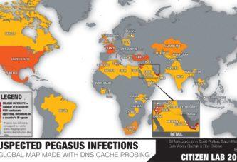 Pegasus infections, il grande fratello contro gli attivisti